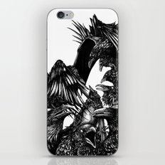 The Riot : Crows iPhone Skin