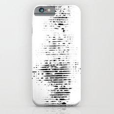 striped imprint iPhone 6s Slim Case