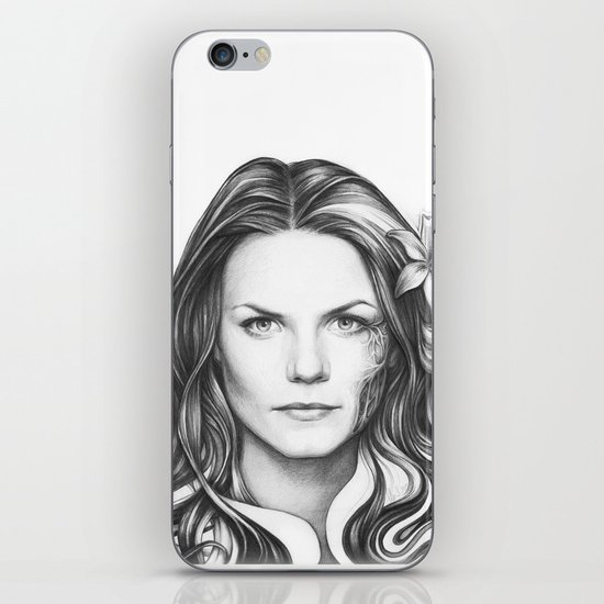 Dr. Cameron House MD Portrait iPhone & iPod Skin