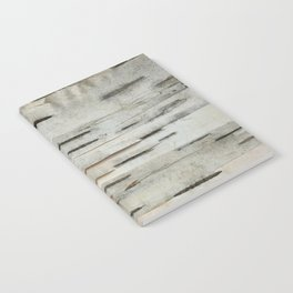 Birch Tree Bark Notebook