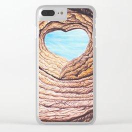 Le coeur de l'amour éternel Clear iPhone Case