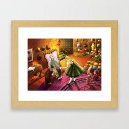 The Kakuna Haberdashery Framed Art Print