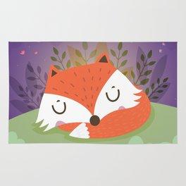 Little fox Rug