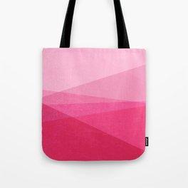 Stripe XI Cotton Candy Tote Bag