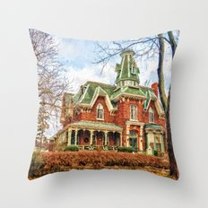 Hochelaga Inn Throw Pillow