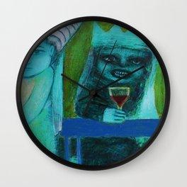 Mer Vin! Wall Clock