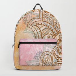 Summer Hamsa Backpack