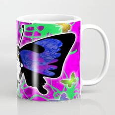 Dachshund Butterfly Wiener Dog by RonkyTonk Mug