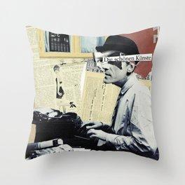 Die Schonen Kunste Throw Pillow