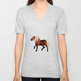 HORSE - Black Forest Unisex V-Neck