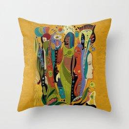 Solstice Queens Throw Pillow