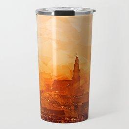 Amsterdam - City View Sunset Travel Mug