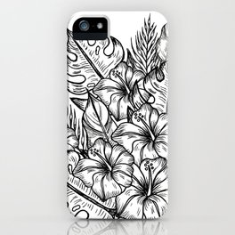 In a Tropical Junge iPhone Case