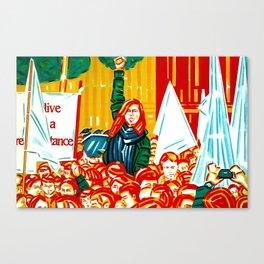 """""""Resistance"""" Canvas Print"""