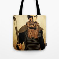 dune Tote Bags featuring DUNE by Storm Media