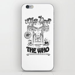 The Who iPhone Skin