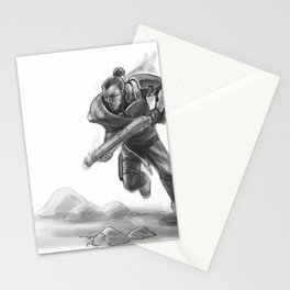 Charging Into History Stationery Cards