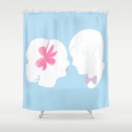 C&B Silhouette Shower Curtain