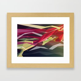 Running Man Framed Art Print