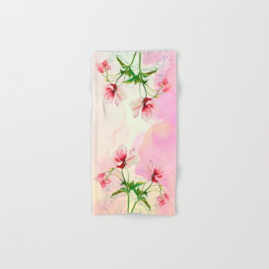 flower love Hand & Bath Towel