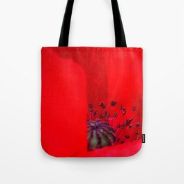 poppy inside Tote Bag