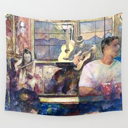 the Night Before the Night Before Wall Tapestry