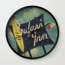 Safari Inn, Burbank, CA.  Wall Clock