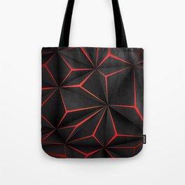Futuristic Triangulation Tote Bag