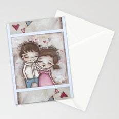 She Believed Him - by Diane Duda Stationery Cards