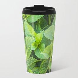 Garden of hydrangeas plants Travel Mug