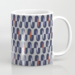 J Stripe Blue Coffee Mug