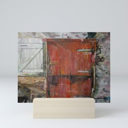 Stable door Mini Art Print