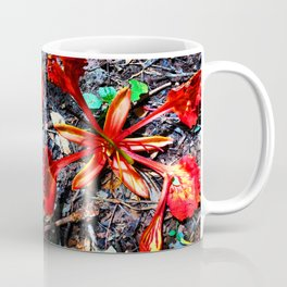 Flor Rojo Coffee Mug