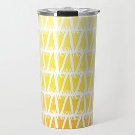 Tee Pee Yellow Gradient Travel Mug