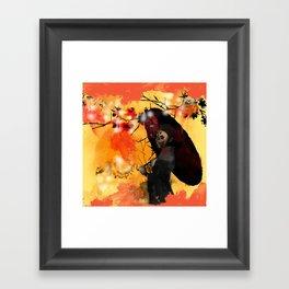 Beauty Fades Framed Art Print