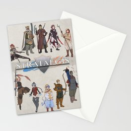 Strataegis - Classes Circle Stationery Cards