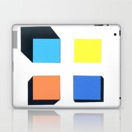 Squares in cross Laptop & iPad Skin