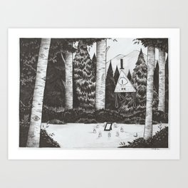Summoning Art Print