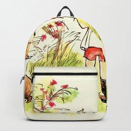 Cartoon Pooh Backpack