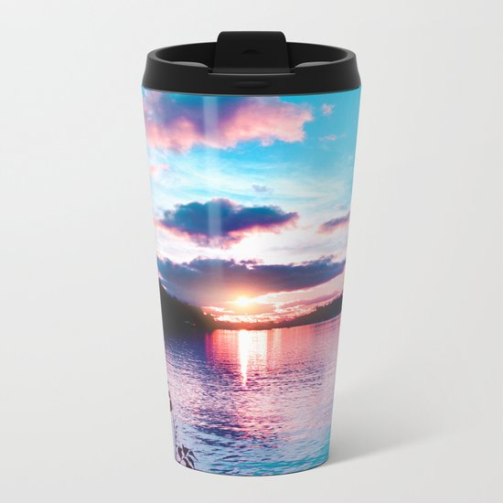 Pastel vibes 29 Metal Travel Mug