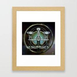 """Astrological Mechanism - Libra"" Framed Art Print"