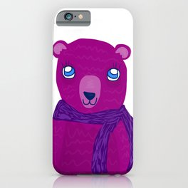 Winter Bear iPhone Case