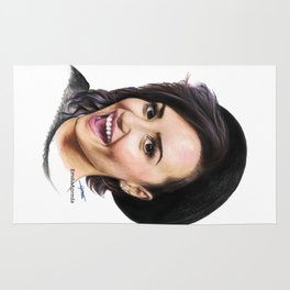 Demi Coloured Pencil Drawing Rug