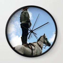 Man and Animal Wall Clock