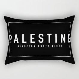 Palestine x Minimalist Rectangular Pillow