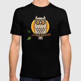 Owl in a Circle T-shirt