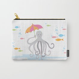 Sweet octopus with a Parasol Carry-All Pouch