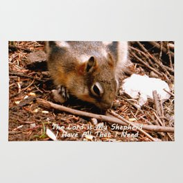 Lord Provides Squirrel Rug