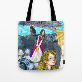 The three maidens of fate Tote Bag