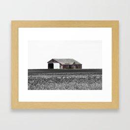 Old Barn Framed Art Print